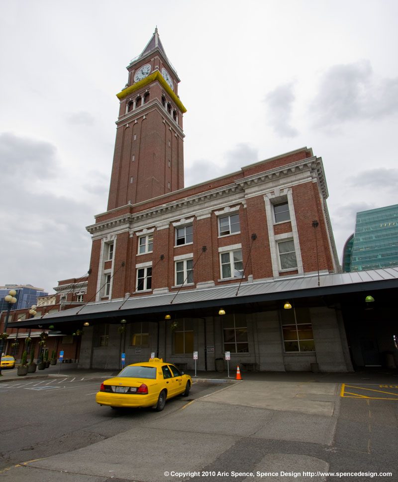 Seattle King Street Station exterior