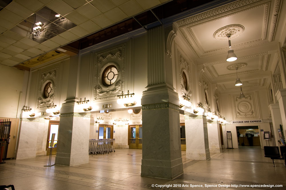 Seattle King Street Station Interior