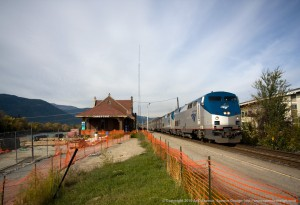 Sandpoint Train Depot - Empire Builder Day Time Stop