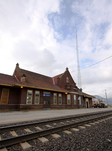 Sandpoint Train Station